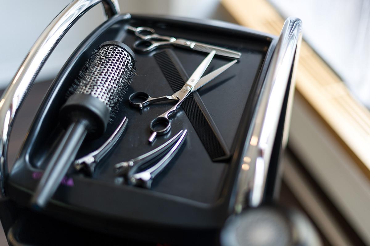 Friseurwerkzeug von Arno Mitsch